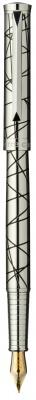 PC1028FP Перьевая ручка Pierre Cardin EVOLUTION,корпус и колпачок - латунь с гравировкой, покрытие металл
