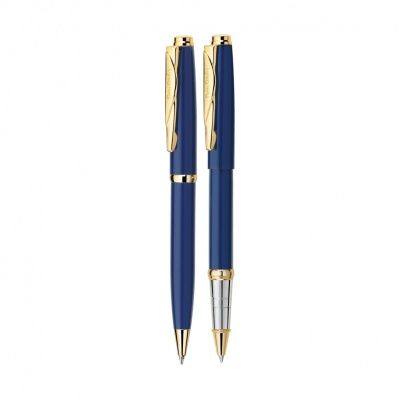 PC0922BP/RP Набор: ручка шариковая + роллер Pierre Cardin PEN and PEN. Цвет синий