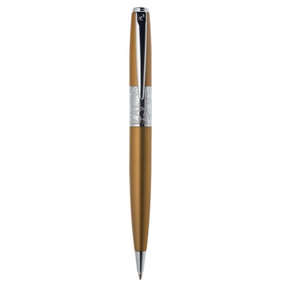 PC2205BP Шариковая ручка Pierre Cardin Baron, цвет - рыжий.