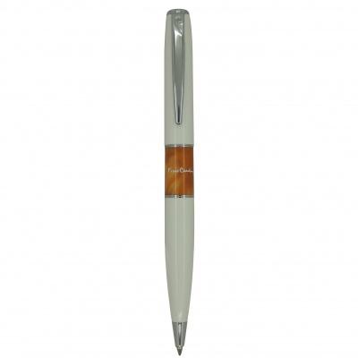 PC3501BP-02 Шариковая ручка Pierre Cardin, LIBRA, корпус и колпачок-латунь,лак,акрил