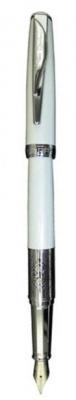 PC3601FP Перьевая ручка Pierre Cardin, SECRET,корпус и колпачок - латунь и лак, детали дизайна - сталь и хром