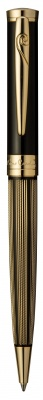 PC7212BP Шариковая ручка Pierre Cardin, Elegant, корпус - латунь с гравировкой и лак