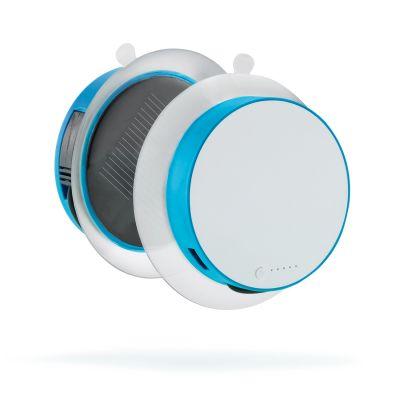 XI95415 XD Design. Зарядное устройство Port на солнечной батарее 1000 mAh, синий