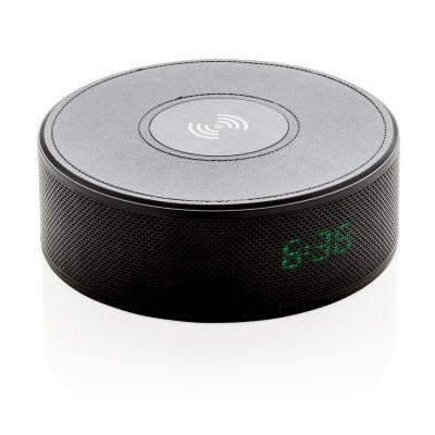 XI184061126 Беспроводной внешний аккумулятор с колонкой и будильником, 5 W