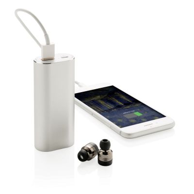 XI18406157 Беспроводные наушники True Wireless с зарядным устройством на 2 000 мАч