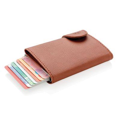 XI184061134 Кошелек с держателем для карт C-Secure, коричневый