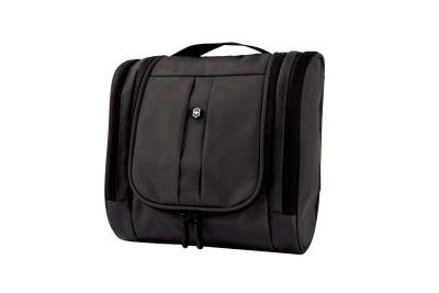 GR171113960 Victorinox Lifestyle and Travel Accessories. Несессер VICTORINOX с крючком для подвешивания, чёрный, нейлон 800D, 24x11x23 см, 6 л