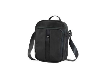 GR1711131484 Victorinox Lifestyle and Travel Accessories. Сумка наплечная VICTORINOX Travel Companion вертикальная, чёрная, нейлон 800D, 21x10x27 см, 6 л