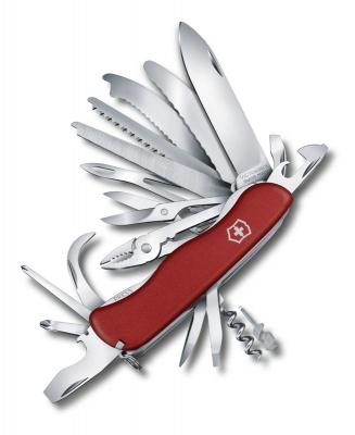 GR1711131063 Victorinox WorkChamp. Нож перочинный VICTORINOX WorkChamp XL, 111 мм, 31 функция, с фиксатором лезвия, красный