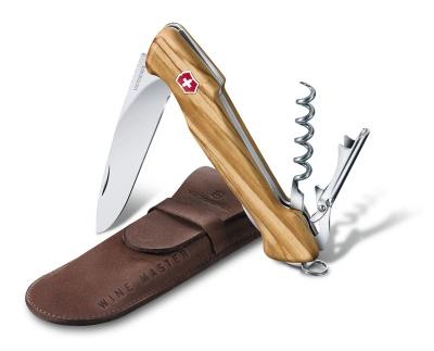 VX200512127 Victorinox Wine Master. Нож перочинный VICTORINOX Wine Master, 130 мм, 6 функций, с фиксатором, рукоять из оливкового дерева