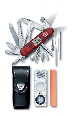 GR171113951 Victorinox Expedition Kit. Набор VICTORINOX Expedition Kit: нож, чехол, линейка, компас, лупа, термометр, уровень, точилка
