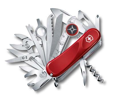 GR1711131018 Victorinox Evolution. Нож перочинный VICTORINOX Evolution S54, 85 мм, 32 функции, с фиксатором лезвия, красный