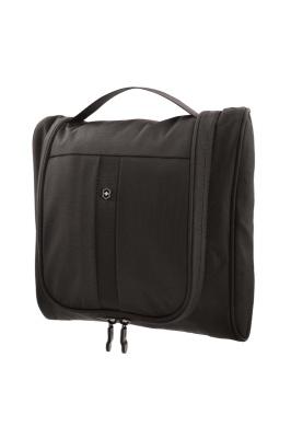 GR171113961 Victorinox Lifestyle and Travel Accessories. Несессер VICTORINOX с крючком и карманом-органайзером, чёрный, нейлон 800D, 27x9x27 см, 6 л