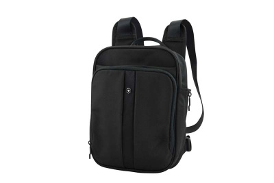 GR171113863 Victorinox Lifestyle and Travel Accessories. Мини-рюкзак VICTORINOX Flex Pack, чёрный, нейлон 800D, 22x10x29 см, 6 л