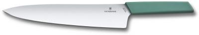 GR21091969 Victorinox. Нож разделочный VICTORINOX Swiss Modern, 25 см, сталь / синтетический материал, шалфейный