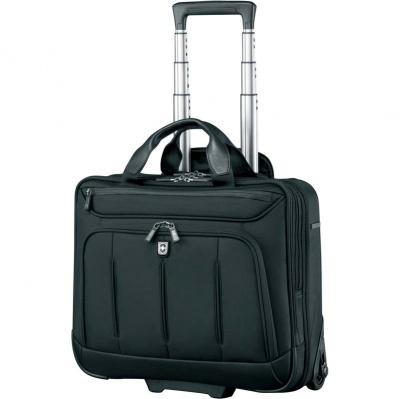 VX200512161 Victorinox VX One. Мобильный офис VICTORINOX VX One Briefcase 15,6', чёрный, нейлон 1000D/кожа, 42x21x40 см, 35 л