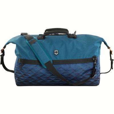 VX200512269 Victorinox VX Touring. Дорожная сумка VICTORINOX VX Touring, Duffel, Dark Teal, синяя, ткани VX4 и VXTek, 51x23x29 см, 35 л