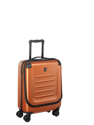 VX200512223 Victorinox Spectra. Чемодан VICTORINOX Spectra™ Dual-Access 2.0, оранжевый, поликарбонат Bayer, 38x20x55 см, 32 л