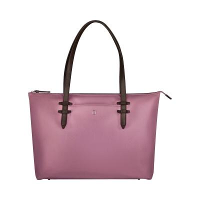 GR210919283 Victorinox. Сумка VICTORINOX Victoria Deluxe Business Tote, пурпурно-розовая, нейлон/кожа, 47x15x31 см, 16 л