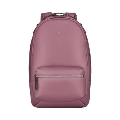 GR210919286 Victorinox. Рюкзак VICTORINOX Victoria Classic Business Backpack 15.4, пурпурно-розовый, нейлон/кожа, 27x2x41 см