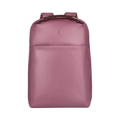 GR210919288 Victorinox. Рюкзак VICTORINOX Victoria Compact Business Backpack 16', пурпурно-розовый, нейлон/кожа, 27x16x40 см