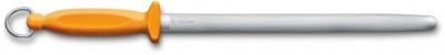 GR2109192 Victorinox. Мусат VICTORINOX Swibo, 30 см, овальная форма, мелко-средняя насечка, сталь, жёлтый