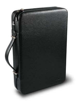 GR1711131364 Victorinox Аксессуары. Портфель VICTORINOX для презентации и хранения ножей, кожаный, чёрный, БЕЗ НАПОЛНЕНИЯ