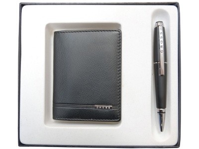 OA2003021172 Cross Edge. Набор: обложка для кредитных и визитных карт Classic Century с ручкой-роллер. Cross