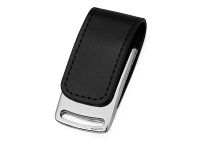 OA2003024327 Флеш-карта USB 2.0 16 Gb с магнитным замком Vigo, черный/серебристый