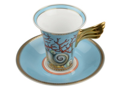 OA1701223237 VERSACE. Кофейная пара La Mer