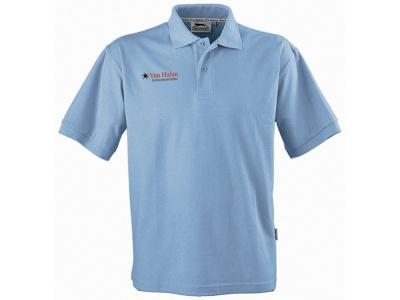 OA79TX-LBL3K4 Slazenger. Рубашка поло Forehand детская, голубой