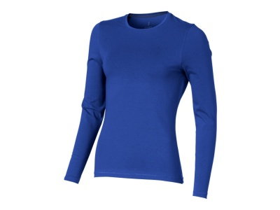 OA1701403166 Elevate. Футболка Ponoka  женская с длинным  рукавом, синий