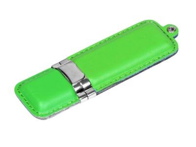 OA2003025187 Флешка классической прямоугольной формы, 64 Гб, зеленый
