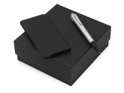 OA2003023805 Подарочный набор Beam of Light с ручкой и зарядным устройством, серебристый