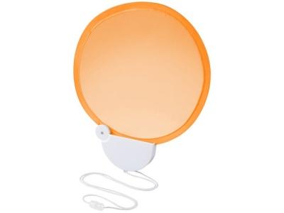 OA1830321414 Складной вентилятор (веер) Breeze со шнурком, оранжевый/белый