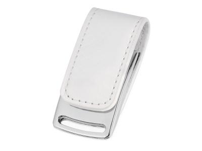 OA2003024329 Флеш-карта USB 2.0 16 Gb с магнитным замком Vigo, белый/серебристый