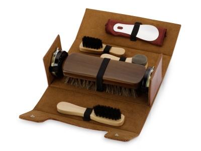 OA82S-BRN62 Набор для чистки обуви Сундучок, коричневый
