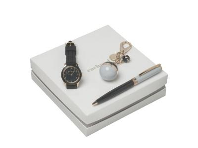 OA200302642 Cacharel. Подарочный набор Bird: брелок, часы наручные, ручка шариковая. Cacharel