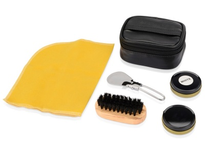 OA11S-BLK3 Набор для чистки обуви Шик, черный