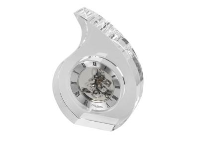 OA81W-SLR8 Ottaviani. Часы настольные Шельф Ottaviani, прозрачный/серебристый