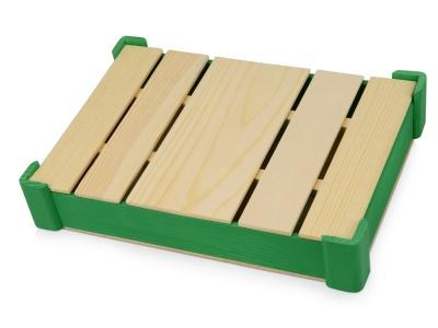 OA1701222709 Подарочная деревянная коробка, зеленый
