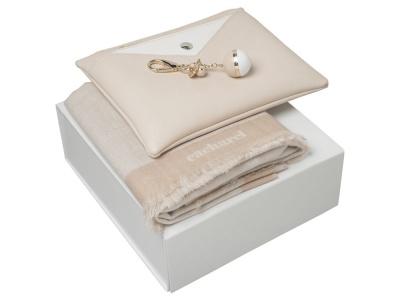 OA200302646 Cacharel. Подарочный набор Bird: брелок, шарф, сумочка. Cacharel