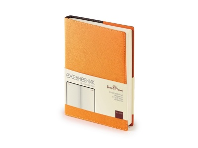 OA2003022060 Bruno Visconti. Ежедневник А5 полудатированный Porto, оранжевый