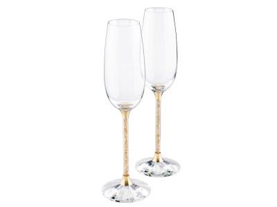 OA1701407233 Swarovski. Бокалы для шампанского Crystalline (набор из 2 шт.). Swarovski