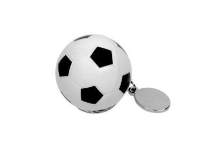 OA2003025099 Флешка в виде футбольного мяча, 64 Гб, белый/черный