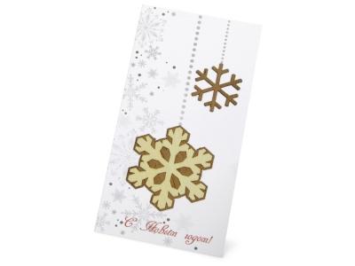 OA1701221687 Открытка Новогодние снежинки