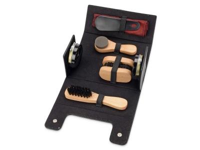 OA11S-BLK2 Набор для обуви Честер, черный, натуральный