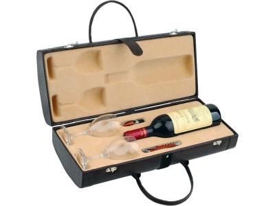 OA82S-BRN48 Тубус для вина с винными аксессуарами Рислинг, коричневый