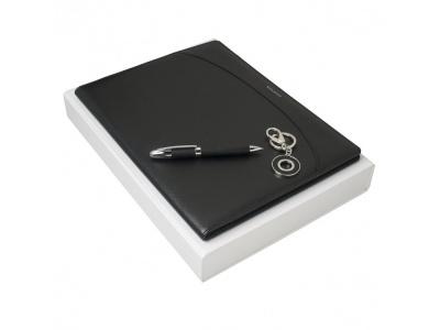 OA200302695 Nina Ricci. Подарочный набор Embrun: папка А4, ручка шариковая, брелок. Nina Ricci