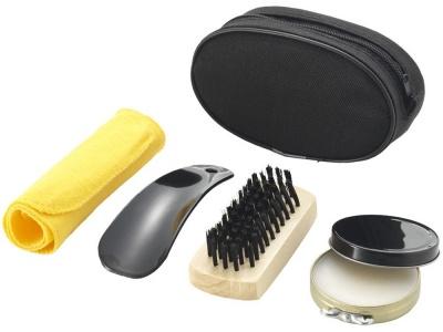 OA82S-BLK106 Набор для чистки обуви Hammond, черный